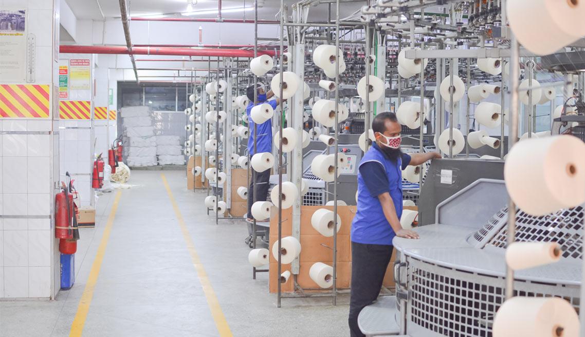 Mamun Knitwar Ltd. Knitting Section