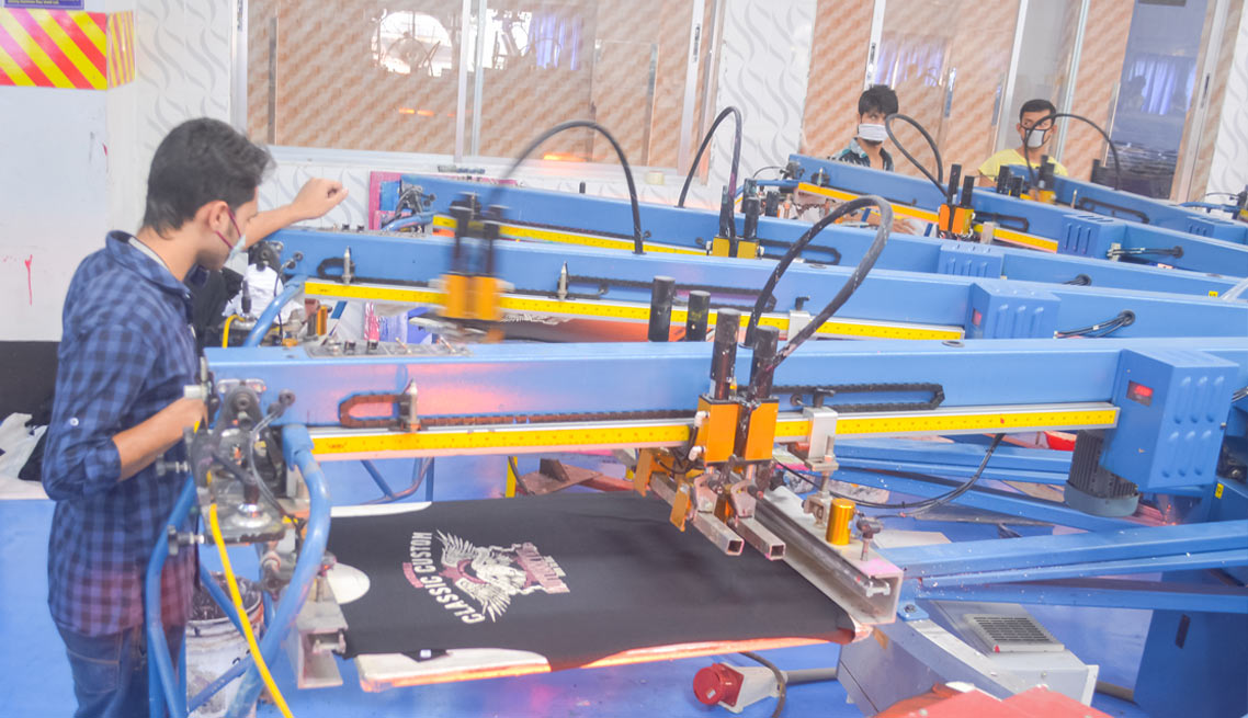 Printing Section of Mamun Knitwear Ltd.